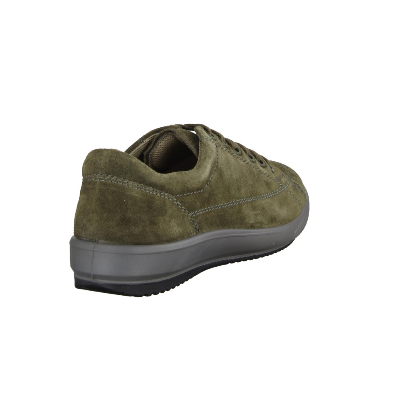0341500042 Dark Olive (grün) - sportlicher Schnürschuh