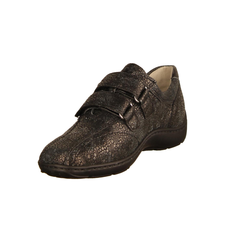 Waldläufer 496301 Henni Pro Aktiv Damen Schuhe Klettverschluß schwarz
