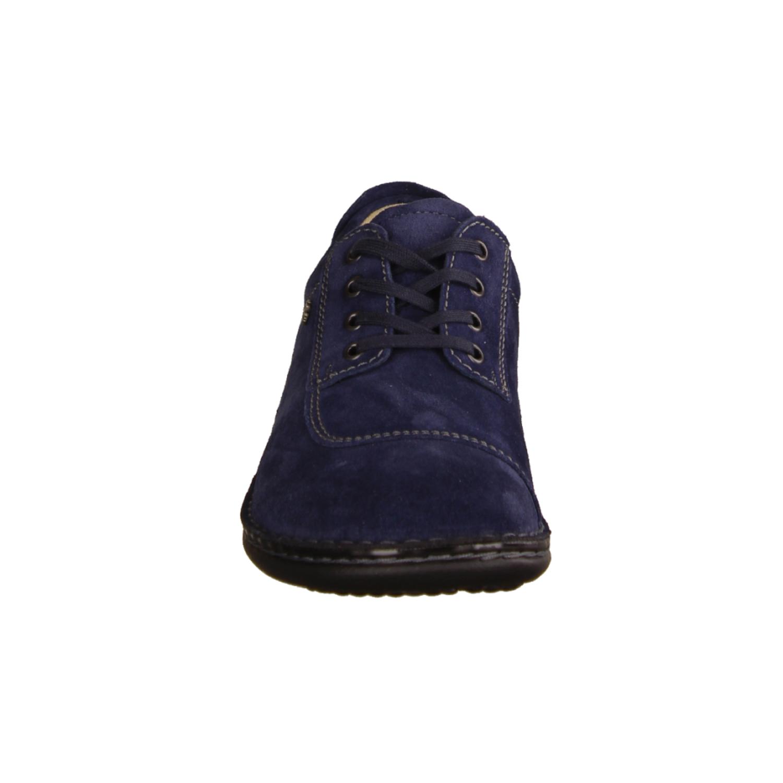 Kya 607014-194 Schiefer/Peltro (blau) - Schnürschuh mit loser Einlage