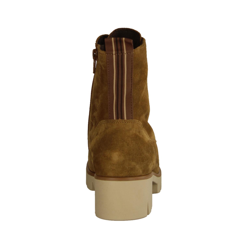 71620-18 Castagno/Bronce (braun) - ungefütterte Stiefelette