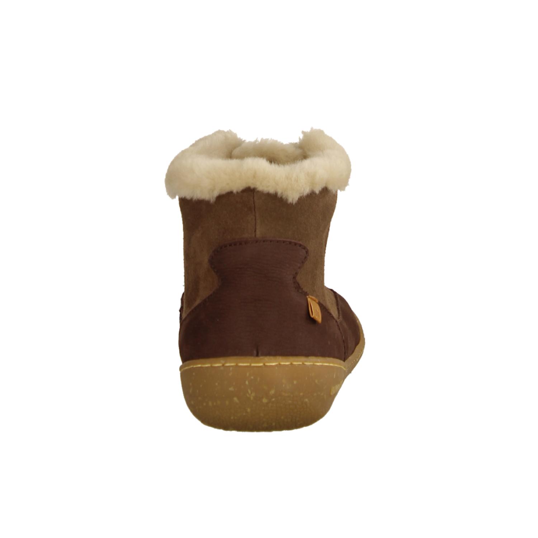Camapnia 00654-57 Dark Clay (braun) - gefütterte Stiefelette