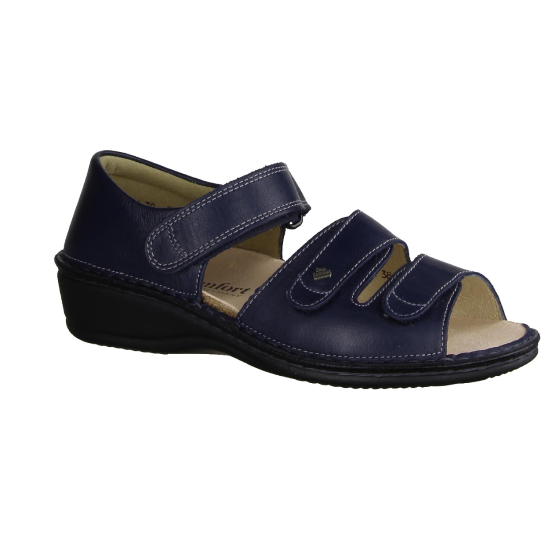 Aversa Ciel (Blau) - Sandale mit loser Einlage