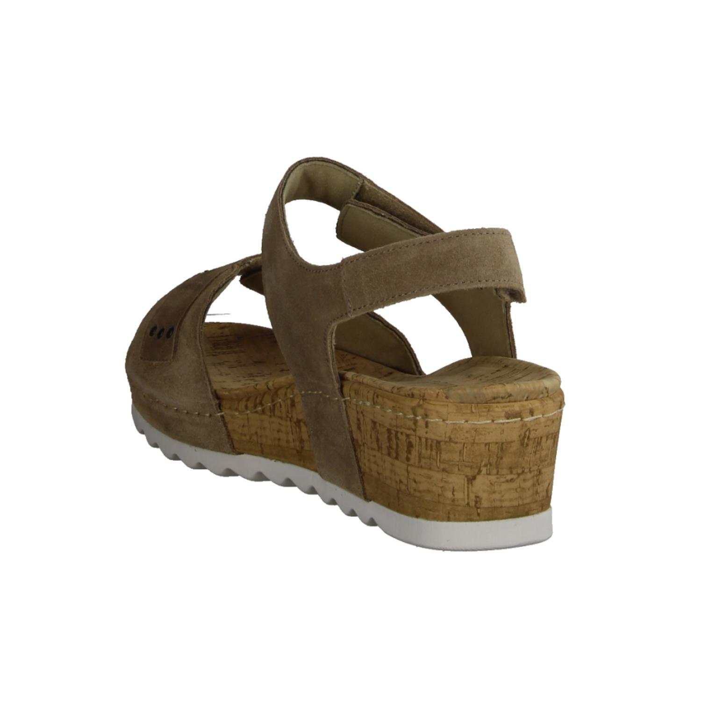 Fünen Ecru, Beige - Sandale mit loser Einlage
