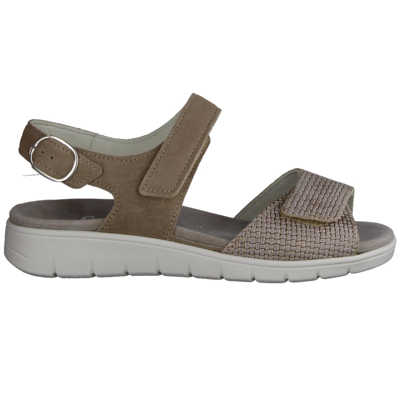 Merle 811001-103 Peltro (beige) - Sandale mit loser Einlage