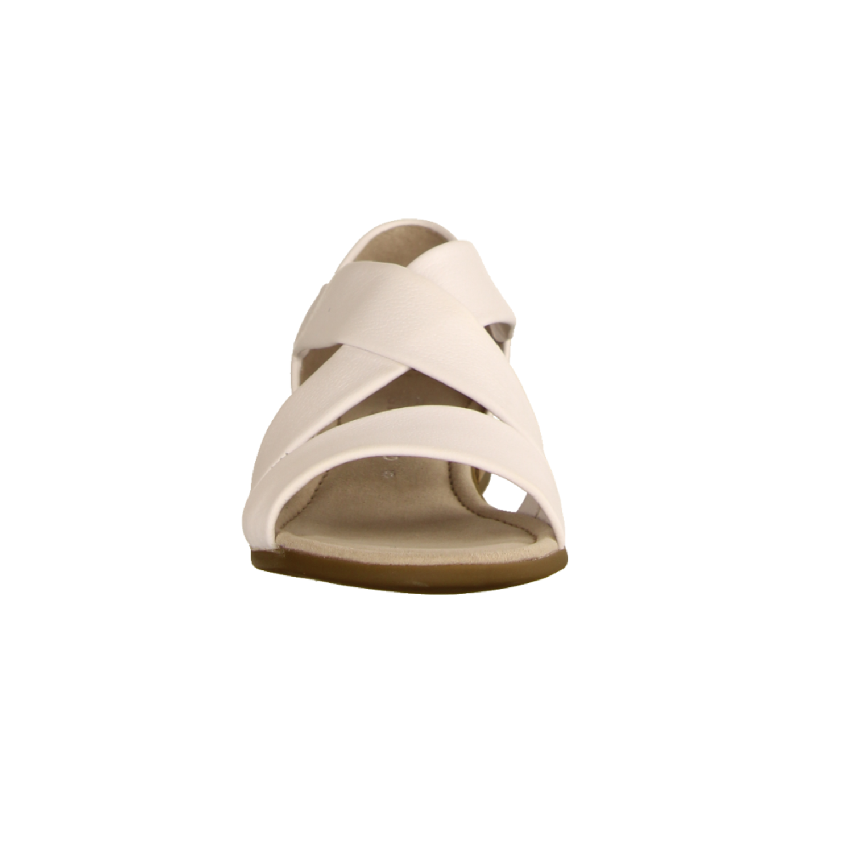 22761-50 Weiss (weiß) - elegante Sandale
