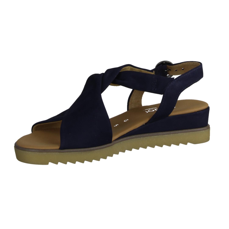 22774-36 Bluette (blau) - elegante Sandale