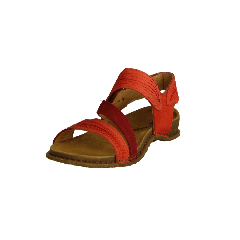 Belinda 88 Orange (rot) - elegante Sandale