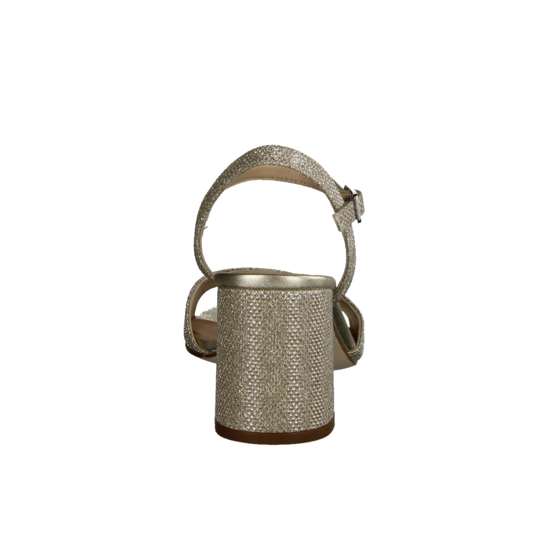 Ficdjio 05, Rot Rouge - elegante Sandale