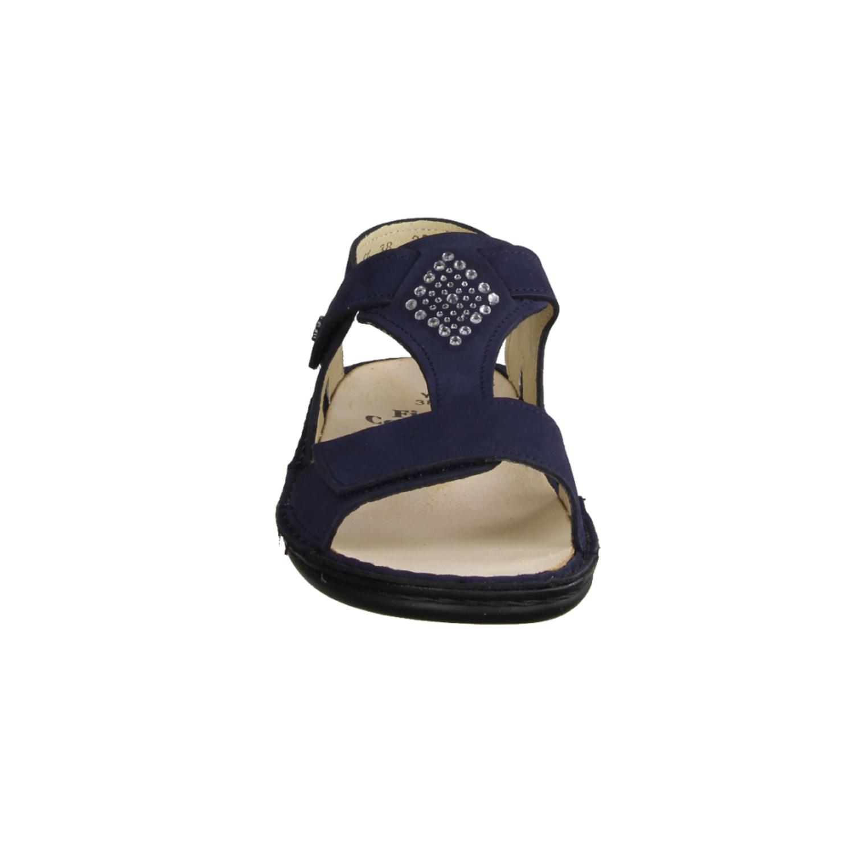 Ramona R9045-080, Dunkelblau Midnightblue - Sandale mit loser Einlage
