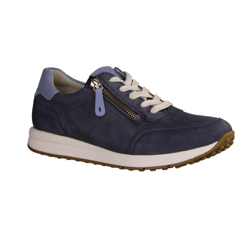 Jersey, Blau Navy - sportlicher Schnürschuh