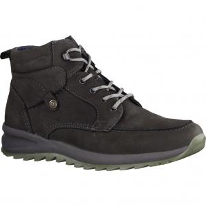 39223-47 Grau Kombi - gefütterter Stiefel