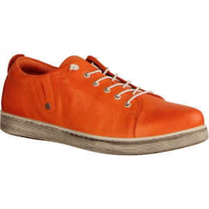 0347891044 Papaya (rot) - sportlicher Schnürschuh