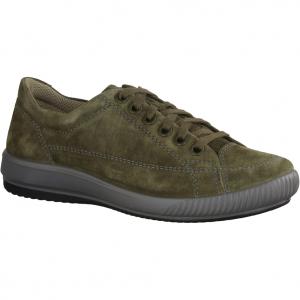 Andrea Conti 0341500042 Dark Olive (grün) - sportlicher Schnürschuh