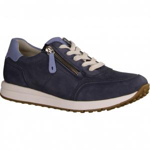 Jersey, Blau Navy - sportlicher Schnürschuh Navy