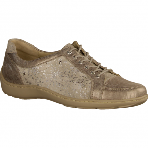 Henni 496005-070 Pro Aktiv Stein/Silber (grau) - Schnürschuh mit loser Einlage