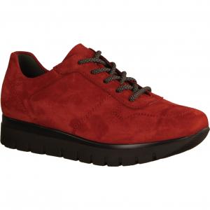Select Silvia S2045-049 Rost (rot) - Schnürschuh mit loser Einlage