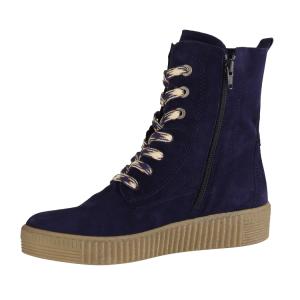 NEU: Rieker Sneaker Stiefeletten L6540 14 blau kombi