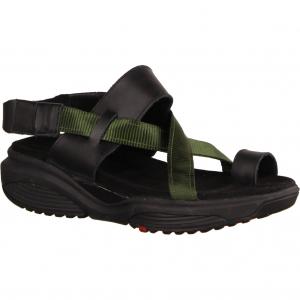 Banda Schwarz/Grün - sportliche Sandale