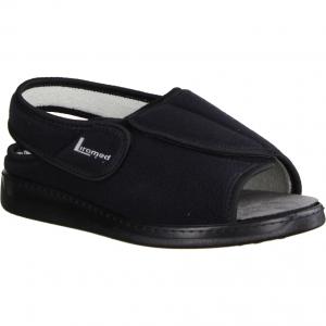 475-Z1 Schwarz - sportliche Sandale