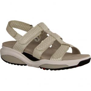 Samos White/Silve Fantasy (weiß) - sportliche Sandale