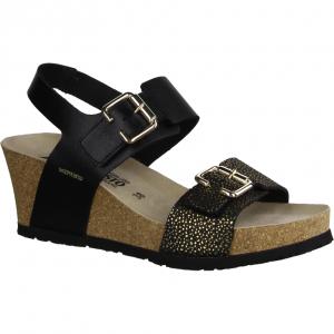 22474-27 (schwarz) - elegante Sandale