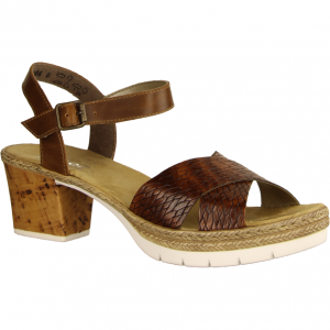 V2962-25 Braun - elegante Sandale