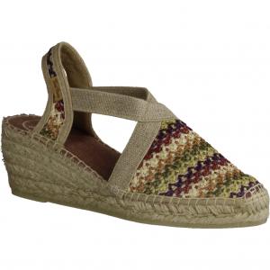 7279-004, hellbraun Sisal (beige) - elegante Sandale