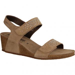 Maria Spark Light Taupe (beige) - elegante Sandale