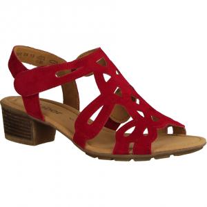 44561-15 Rubin (rot) - elegante Sandale