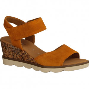 42844-31 Orange (rot) - elegante Sandale