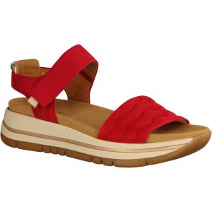 46761-48 Flame/Platino (rot) - elegante Sandale
