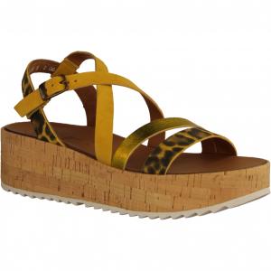 7498-056 Sun/Brazil (gelb) - elegante Sandale