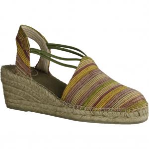 22921-35 (antikrosa) Anrikrosa/Silber - elegante Sandale