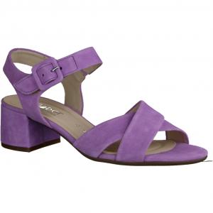 22736-90 Silber, Metallic - elegante Sandale