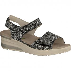 H-Claudia 702005-001 Schwarz - Sandale mit loser Einlage