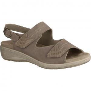 411 Schiefergrau - Sandale mit loser Einlage