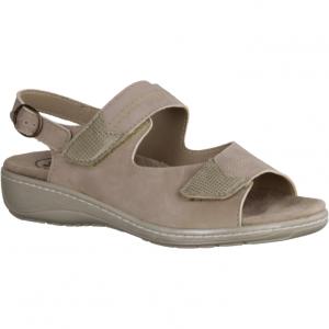 411 Sand (beige) - Sandale mit loser Einlage