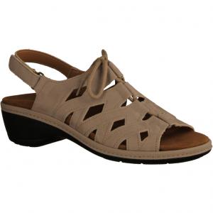 417 Sand (beige) - Sandale mit loser Einlage