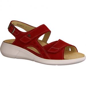 Suva Pomodore (Rot) - Sandale mit loser Einlage