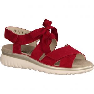 Laura L7035-066 Fire (rot) - Sandale mit loser Einlage