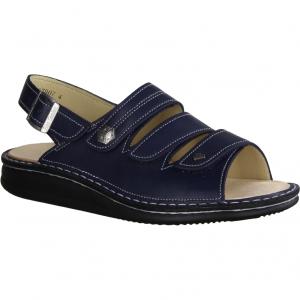Costa (blau) - Sandale mit loser Einlage