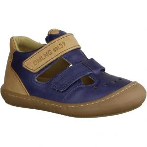 Freddy 00140-82, Blau/Grün - Sandale für Jungen Baby