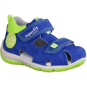 Freddy 09142-81 Blau/Gelb - Sandale für Jungen Baby