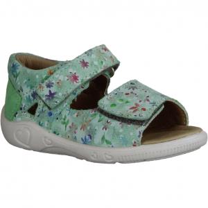 09038-75 Hellgrün/Metallic - Sandale Baby (grün)