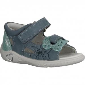 Fanny 00036-80, Blau/Rosa - Sandale Baby