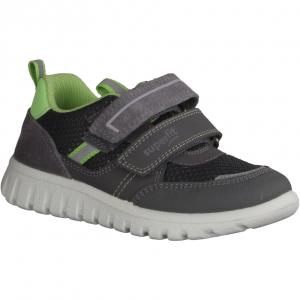 Sport 7 Mini Grau/Blau - Klettverschluss Schuh