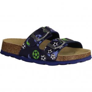 Pantoffel 8001118020 Blau