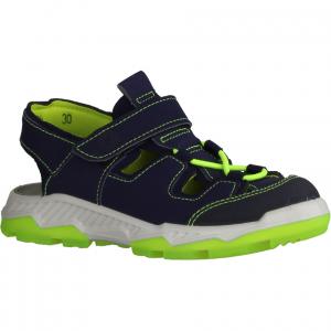 Mike 2 Blau/Gelb - Sandale