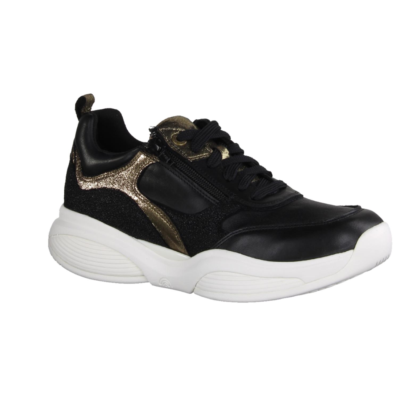 Details about Ecco ST 1W 8361935105 Damen Sneaker, Schwarz, Leder, NEU Damenschuhe leder