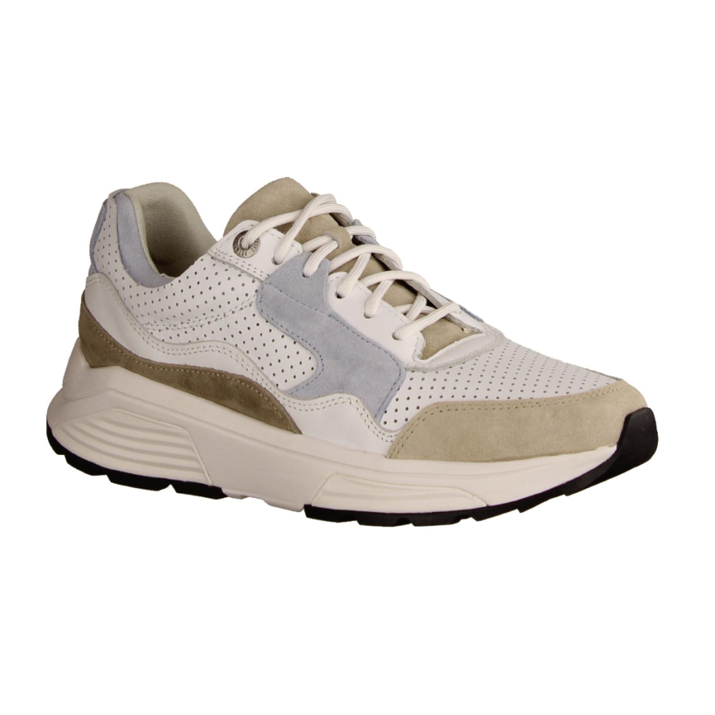 Sneaker Donna Puma Vikky Platform RIBBON 366419 002 White Cuoio Nuovo Wei